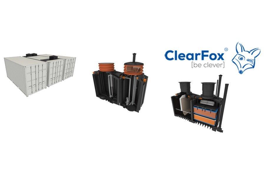 ClearFox Kleinkläranlagen